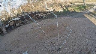 Выкройка зимней палатки для рыбалки