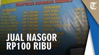 Berbeda dengan Nasib Warung Bu Anny, Warung Bu Riska Jual Nasgor Rp100 Ribu Dianggap 'Fair' Netizen