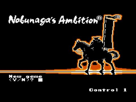 nobunaga's ambition nes walkthrough
