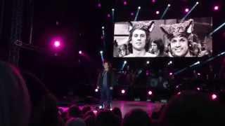 Ylvis på Bergenhus Festning - Bjarte Ylvisåker - I Will Never Be A Star