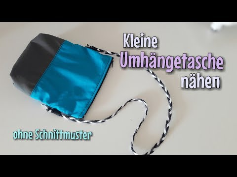 Handtasche Nähanleitung - Ohne Schnittmuster - Für Anfänger - Nähtinchen