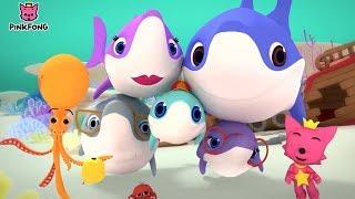Baby Shark Family & Photographer Mr. Octopus | ¡Cantar Y Bailar! Canciones Para Niños