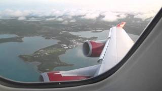 preview picture of video 'Virgin Atlantic VS36 take-off from ANU.mov'