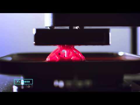Carbon3D, una tecnología cien veces más rápida que la impresión 3D