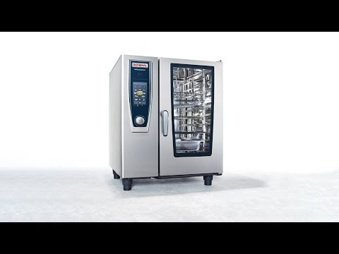 SCC61E 6 Grid 1/1GN Electric Self Cooking Center / Combination Oven Product Video