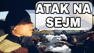 Atak na Sejm! Myśliwiec nie odpuszcza || Działaj! || VETO