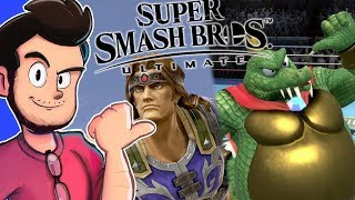 Ant Reacts to New Smash Bros Ultimate Characters - AntDude