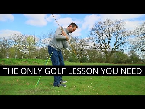 THE ONLY GOLF LESSON YOU NEED - YouTube
