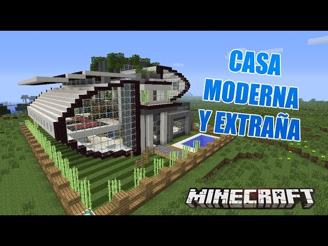 Top 10 construcciones creativo minecraft top 10 for Casa moderna minecraft xbox 360