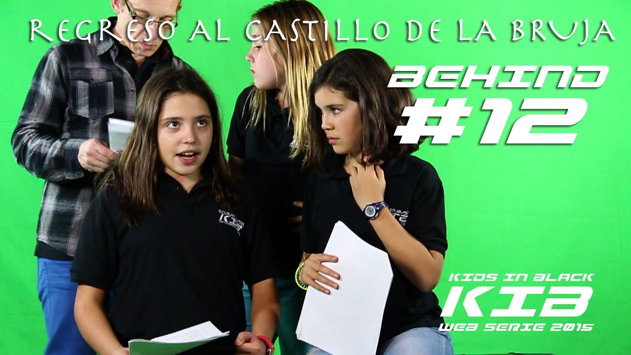Regreso al Castillo de la Bruja -  Kids In Black 2015 - Detrás de las cámaras #12