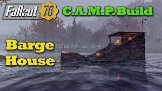 Fallout 76 C.A.M.P. Build: A Barge House