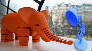 CNET Top 5 - 3D-printed projects