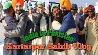 chalo kartarpur (part-2) my journey from india to pakistan    kartarpur corridor    PUNJABI VLOGGER