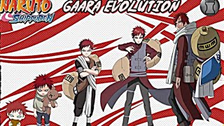 Gaara - All Forms (Naruto,Naruto Shippuden, Naruto The Last, Naruto Gaiden,Boruto Movie)