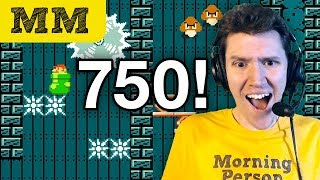 Morning Mario #750 • stephen struggles with expert mode