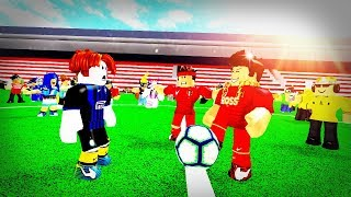 ROBLOX BULLY STORY - Soccer Champions (Football Animation)