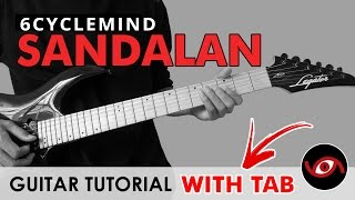 Sandalan - 6Cyclemind Guitar CHORDS + SOLO Tutorial (WITH TAB)