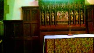 Wraxall Church ' All Saints ', Inside, July 2011.wmv