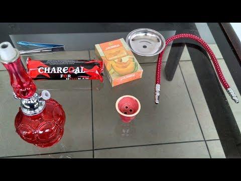 Unboxing Paket Mini Shisa Hookah Komplit Rokok Shisa 1 Sisha Mini Lengkap Siap Pakai
