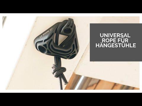 Vorschau: Hängestuhl Basic 105x140 cm Modesta Bio braun