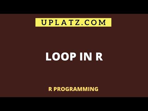 Loop in R | R Programming Tutorial | R Training & Certification ...