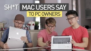 Sh*t MACBOOK Users SAY to PC Owners | TricycleTV