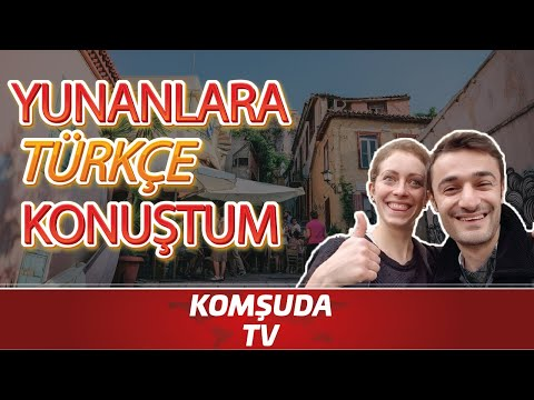 Yunanlara Türkçe Konuşunca Verdikleri Tepkilere Bakın! - Komşuda Tv