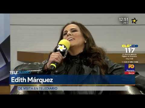 """Edith Márquez cantando """"Pasos"""" a capella"""