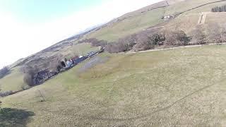 Borthwick Castle & Parish Church fpv iflight nazgul 5 v2 runcam 5 Orange