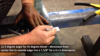 Tech Tip: How to Miter a Downspout