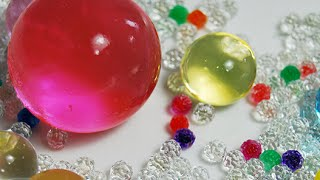 Орбиз выращиваем в воде большие шары  Growing in the water big balls orbeez