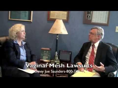 Vaginal Mesh Lawsuit Interviews
