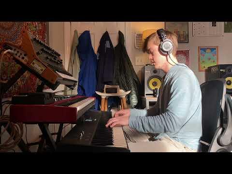 "My transcription of the Beatles' classic, ""Blackbird,"" as played by Brad Mehldau."