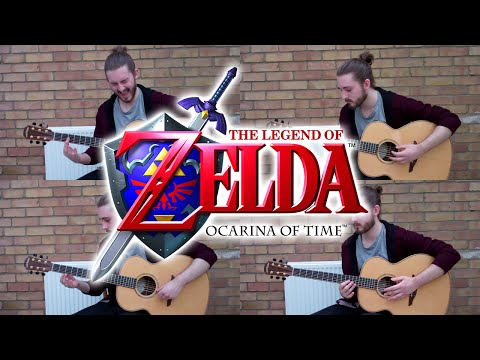 Zelda's Best Ever Song On Four Acoustic Guitars