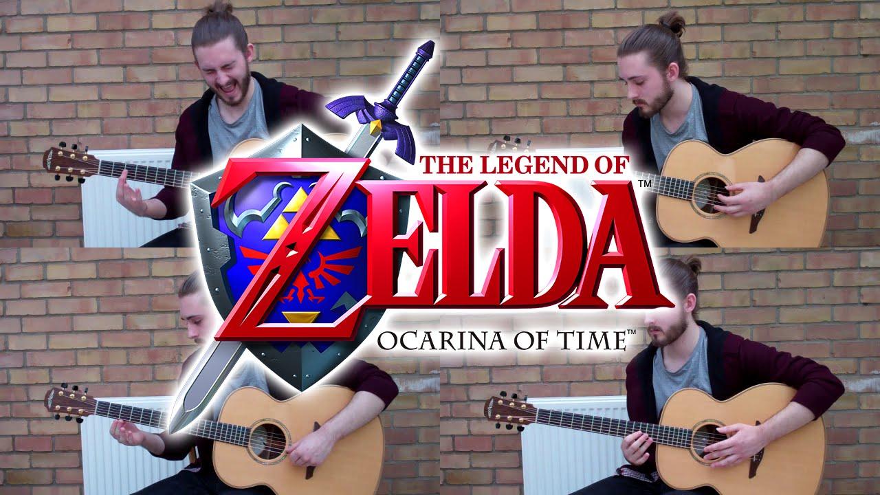 Zelda's Best Ever Song On Four Acoustic Guitars