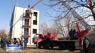 Краснодарские пожарные поставили рекорд края по скорости тушения огня