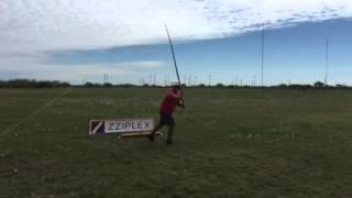Will Nash demonstrates the pendulum cast
