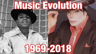 Michael Jackson - Music Evolution (1969 - 2018)