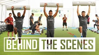 Drills, skills and a lot of hard work   Exclusive behind the scenes