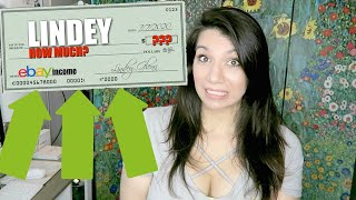 How Much Money I REALLY MAKE From Reselling On EBay!