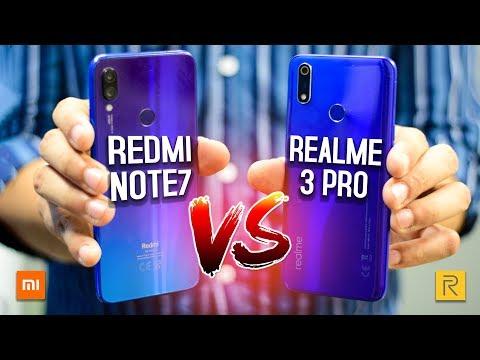 مقارنة بين Realme 3 Pro و Xiaomi Note 7 | الحقيقة عكس التوقعات !