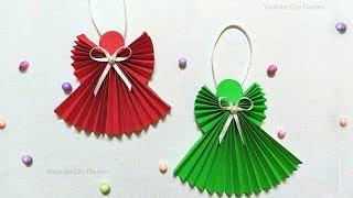 How To Make Paper Angel | DIY Christmas Tree Decorations | DIY Christmas Ornaments 2019