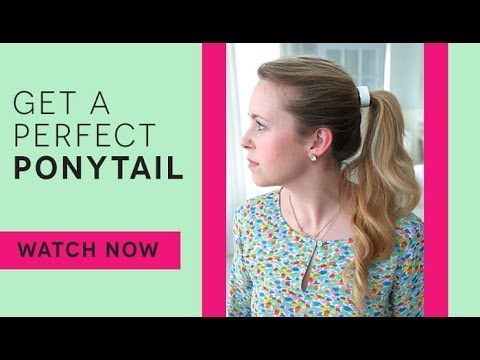 How To: Voluminous Ponytail