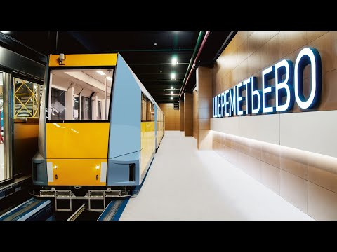 Тест-драйв | Поезд без машиниста в России онлайн видео