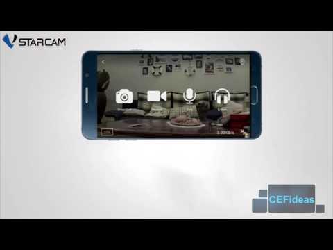 VStarcamVstarcam HD and FullHD Wireless IP Camera CCTV   Night Vision  All  Pan/Tilt  Local Warranty