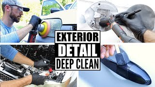 Complete Disaster Full Car Exterior Detailing! Deep Cleaning A Ford Escape