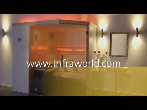 Infraworld Saunakabinen für Zuhause auf www.sauna-profi.de