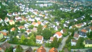 preview picture of video 'Flugvideo mit Modellflugzeug bei München / Pasing'