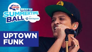 Bruno Mars - Uptown Funk (Best of Capital's Summertime Ball) | Capital