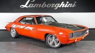 1969 Chevrolet Camaro 572 Chip Foose Bright Orange LC312